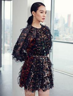 Shin Min Ha for Harper's Bazaar Korea's February 2015 issue