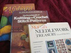 Vintage crochet books