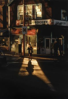 """ronulicny:  """"Crossing Powell 2"""", 1984 By: FRED HERZOG…."""