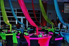 Resultado de imagem para decoracion fiesta de 15 años en neon