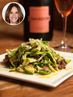 Julia Roberts' Pre-Movie Meal: Brussels Sprout and PancettaSalad