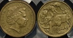 An Australian one-dollar coin is now worth thousands to collectors because of a distinctive error which took years for anyone to notice. Rare Coins Worth Money, Valuable Coins, One Dollar, Dollar Coin, Coin Press, Coin Dealers, Coin Worth, Rare Stamps, Error Coins