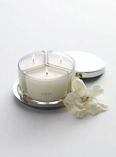 Wild Fig & Cassis, Vintage Gardenia and Parma Violets Tea Fragrance Combining Candle from Jo Malone