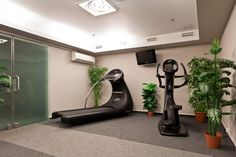 There is a wellness center in the hotel which helps our guests to relax.  Our services are the following:  - fitness room - sauna - experience shower http://caratboutiquehotel.hu/