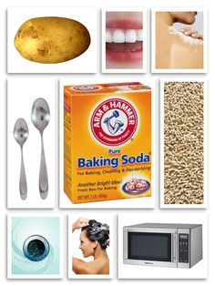 20 Clever Baking Soda Uses for Beauty and Home http://www.surfandsunshine.com/baking-soda-uses-for-beauty-and-home/