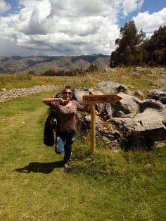 Just outside the main city of Cusco, Peru. Around Sacsayhuaman . There you can find landscape, beautiful green areas and some other places to visit like the X zone. #Cusco #Peru #Sacsayhuaman #Beautiful #Landscape