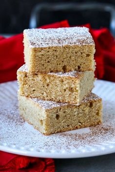 Eggnog Cookie Bars are a perfect addition to your Christmas cookie platter! Hints of eggnog flavor baked into a cookie dessert! christmas #christmascookies #desserts #eggnog #cookiebars #cookierecipes Cookie Desserts, Christmas Desserts, Cookie Bars, Easy Desserts, Dessert Recipes, Christmas Cookies, Eggnog Cookies, Store Bought Frosting, Easy Christmas Cookie Recipes
