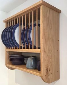 Burford Shelf Rack from The Plate Rack Company & Oak Plate Racks | The Plate Rack Co. - Hand Crafted Bespoke Kitchen ...