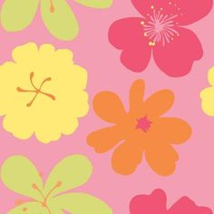 8 in. x 10 in. Brightly Colored Poppin' Poppies Wallpaper Sample-WC1285091S at The Home Depot