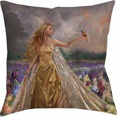 IDG Innocence Indoor Pillow, Multicolor
