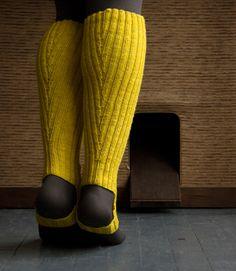 DIY : Leg warmers / Jambières