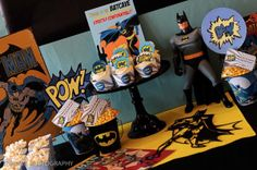 Batman is undoubtedly one of the most popular superheroes going around, so it's inevitable that one of your kids will at some point ask for a Batman Birthday Party.  If you have been trying to put them off due to the belief it's all too hard, we are here to help with our collection of the best (and easiest!) Batman Birthday Party ideas from around the web.  Whether it's decorating ideas or party food – we've got you covered! #batman #birthday #birthdayparty #party
