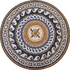 Bring color and dimension to your indoor and outdoor decorative tile projects with the 'Tradition' Medallion mosaic pattern. Explore Mozaico for unique mosaic patterns and more, Get it now for $464.