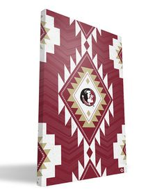 Loving this Florida State Seminoles Tribal Wall Art on #zulily! #zulilyfinds