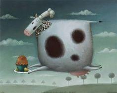 Pinzellades al món: Les vaques de Rob Scotton / Las vacas / Cows by Rob Scotton