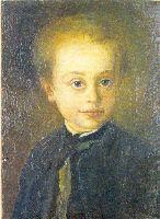 Зоффани Этот замечательный портрет был найден в другой частной коллекции в Италии. Она была написана в Англии около 1765