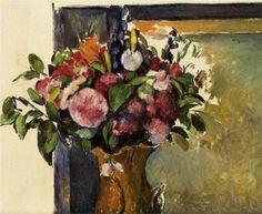 Flowers in a Vase 1882- Paul Cezanne