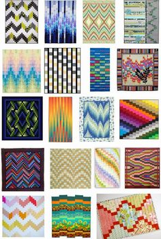 Free Pattern Day : Bargello Quilts : Quilt Inspiration.  Updated September 25, 2014. New patterns were added!