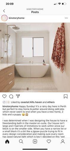 Family Bathroom, Happy Sunday, Perth, Bath Mat, New Homes, Bathtub, Home Decor, Standing Bath, Bathroom