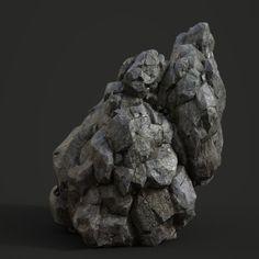 Another rock that rocks..., by Sangwook Lee - https://www.artstation.com/artwork/2Z2Ry #SubstancePainter #ThisIsSubstance
