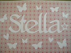 tovaglietta personalizzata con farfalle