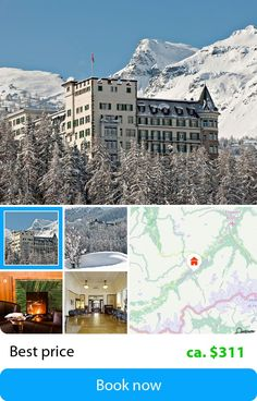 Waldhaus (Sils-Maria, Switzerland) – Book this hotel at the cheapest price on sefibo.