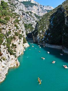 Turquoise Lake, France