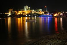 Night Photo of Bodrum Castle 2