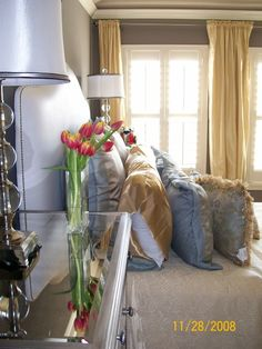 Boutique inspired bedroom designed by Serena Monjeau Walkes featured on Rate My Space