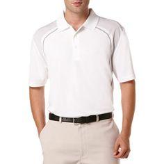 Ben Hogan Performance Geometric Side Print Short Sleeve Polo Shirt