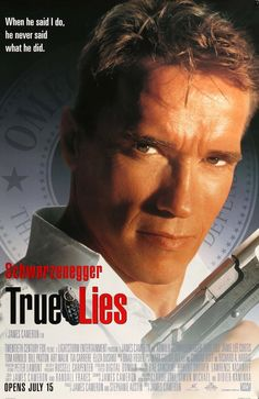 True Lies, directed by James Cameron with Arnold Schwarzenegger and Jamie Lee Curtis. Action Movies, Hd Movies, Movies To Watch, Movies Online, Movies And Tv Shows, Plane Movies, Movies 2014, Movies Free, Action Film