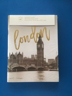 3 X Notebooks; City Design; London/ Paris /New York - New & Sealed  | eBay