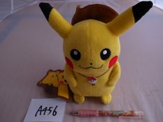 Pokemon Center cowboy Pikachu Plush Doll .shopper bag With gifts  From Japan #PokemonCenter