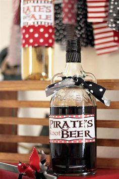 Pirate's {root} Beer ;)
