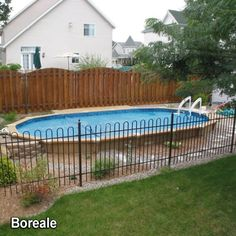 Contempra above ground pool google search small for Piscines semi enterrees