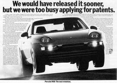 old porsche ads... #porsche www.drive.co.uk/porsche