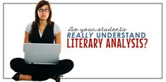 Teaching literary analysis: lessons and strategies for middle and high school English teachers.