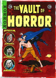 Vault Of Horror #40- Final issue. Fans were not told this was the last issue except for the editorial to try and stem the tide against horror comics. This is surprising as Haunt Of Fear the previous month let fans know that was the last issue of that comic since the comics are done 3-4 months prior to publishing The Vault Keeper tells the readers he'll be seen in the 2nd issue of Crypt Of Terror (no issue of Crypt Of Terror was ever published)