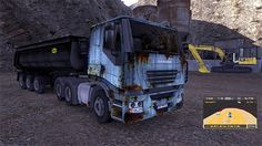 Iveco rusty skin