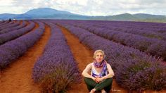 ✣ … You are sitting on the Earth and you Realize that this Earth Deserves you and you Deserve this Earth. You Are There - Fully, Personally, Genuinely…  ✣ Chogyam Trungpa  Photograph © Ellen Vaman (Bridestowe lavender Estate) www.facebook.com/ellen.vaman1 #EllenVaman #Photography #Lavender #Tasmania #Bridestowe #Flowers #Nature #Travel