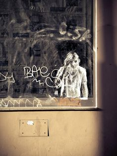 Borondo in Rome by romephotoblog, via Flickr #streetart