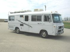 Curbside Classic: 1963 Clark Cortez Motorhome – The Revolutionary Compact RV: FWD, Slant Six, Torsion Bar Independent Suspension, And Built Like A Forklift Vintage Rv, Vintage Trailers, Vintage Campers, Compact Rv, Cool Campers, Happy Campers, Harley Davidson Night Rod, Rv Bus, Classic Campers