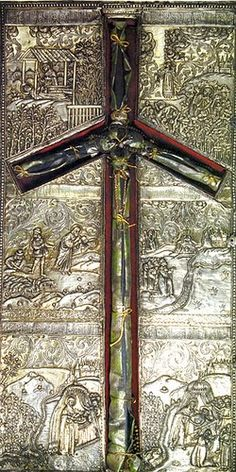 MYSTAGOGY: Concerning the Cross of Saint Nina. The cross is preserved in the Sioni Cathedral in the Georgian capital of Tblisi.