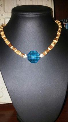 Blue Lagoon Choker Necklace $15