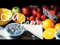 KAKO SE PRIPREMA ČIA SEME (VEGANSKA ISHRANA) - YouTube Healthy Life, Strawberry, Apple, Make It Yourself, Fruit, Youtube, Instagram, Food, Healthy Living