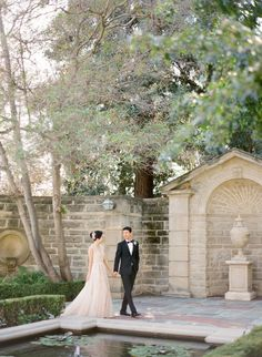 A Timeless Beverly Hills Wedding at the Greystone Mansion - KT Merry Photography