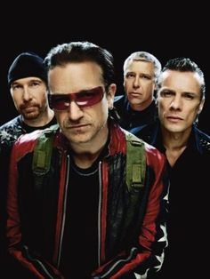 U2. Love them and mostly Bono.