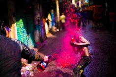 Festival of Colors - Stunning Holi Photographs - 121Clicks.com
