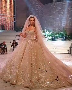 Wedding Dresses Ball Gown - New ideas Fancy Wedding Dresses, Luxury Wedding Dress, Princess Wedding Dresses, Elegant Wedding Dress, Bridal Dresses, Swarovski Wedding Dress, Lebanese Wedding Dress, Engagement Dresses, Ball Gowns