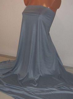 Weiteres - Modal Seide Jersey in uni stahlblau - ein Designerstück von Landhuis bei DaWanda